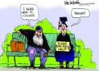 Cartoonist Mike Luckovich  Mike Luckovich's Editorial Cartoons 2012-05-08 education