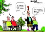 Cartoonist Mike Luckovich  Mike Luckovich's Editorial Cartoons 2012-06-01 gay marriage