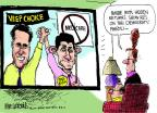 Cartoonist Mike Luckovich  Mike Luckovich's Editorial Cartoons 2012-08-13 Paul Ryan