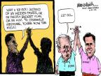Cartoonist Mike Luckovich  Mike Luckovich's Editorial Cartoons 2012-08-17 Ryan Medicare plan