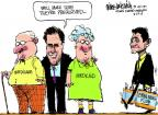 Cartoonist Mike Luckovich  Mike Luckovich's Editorial Cartoons 2012-08-24 Paul Ryan