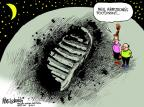 Cartoonist Mike Luckovich  Mike Luckovich's Editorial Cartoons 2012-08-28 shoe