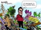 Cartoonist Mike Luckovich  Mike Luckovich's Editorial Cartoons 2012-09-13 2012 election