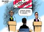 Cartoonist Mike Luckovich  Mike Luckovich's Editorial Cartoons 2012-10-02 debate