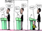 Cartoonist Mike Luckovich  Mike Luckovich's Editorial Cartoons 2012-10-16 debate