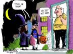 Cartoonist Mike Luckovich  Mike Luckovich's Editorial Cartoons 2012-10-19 undecided voter