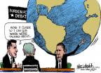 Cartoonist Mike Luckovich  Mike Luckovich's Editorial Cartoons 2012-10-24 debate