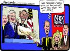 Cartoonist Mike Luckovich  Mike Luckovich's Editorial Cartoons 2012-11-14 Fox News anchor