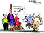 Cartoonist Mike Luckovich  Mike Luckovich's Editorial Cartoons 2013-01-06 dog