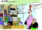 Cartoonist Mike Luckovich  Mike Luckovich's Editorial Cartoons 2013-03-01 Watergate