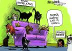 Cartoonist Mike Luckovich  Mike Luckovich's Editorial Cartoons 2013-03-03 herd