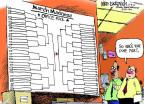 Cartoonist Mike Luckovich  Mike Luckovich's Editorial Cartoons 2013-03-08 basketball