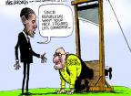 Cartoonist Mike Luckovich  Mike Luckovich's Editorial Cartoons 2013-04-10 retirement