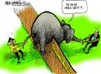 Cartoonist Mike Luckovich  Mike Luckovich's Editorial Cartoons 2013-05-03 border fence