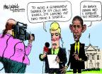 Cartoonist Mike Luckovich  Mike Luckovich's Editorial Cartoons 2013-05-23 search amendment