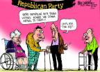 Cartoonist Mike Luckovich  Mike Luckovich's Editorial Cartoons 2013-06-04 voter identification