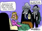 Cartoonist Mike Luckovich  Mike Luckovich's Editorial Cartoons 2013-07-19 stop