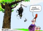 Cartoonist Mike Luckovich  Mike Luckovich's Editorial Cartoons 2013-08-06 baseball