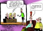 Cartoonist Mike Luckovich  Mike Luckovich's Editorial Cartoons 2013-08-16 reality television