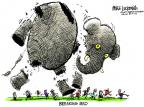 Cartoonist Mike Luckovich  Mike Luckovich's Editorial Cartoons 2013-10-01 shutdown