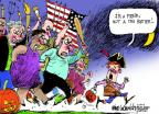 Cartoonist Mike Luckovich  Mike Luckovich's Editorial Cartoons 2013-10-22 shutdown