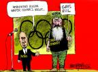 Cartoonist Mike Luckovich  Mike Luckovich's Editorial Cartoons 2013-12-20 reality television