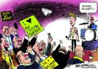 Cartoonist Mike Luckovich  Mike Luckovich's Editorial Cartoons 2014-01-24 defense