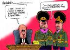 Cartoonist Mike Luckovich  Mike Luckovich's Editorial Cartoons 2014-03-05 Iraq war