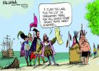 Cartoonist Mike Luckovich  Mike Luckovich's Editorial Cartoons 2014-03-31 American History