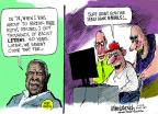 Cartoonist Mike Luckovich  Mike Luckovich's Editorial Cartoons 2014-04-17 baseball