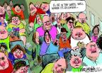Cartoonist Mike Luckovich  Mike Luckovich's Editorial Cartoons 2014-04-23 airline travel