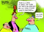 Cartoonist Mike Luckovich  Mike Luckovich's Editorial Cartoons 2014-05-04 peace