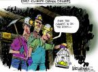 Cartoonist Mike Luckovich  Mike Luckovich's Editorial Cartoons 2014-05-07 climate