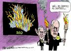 Cartoonist Mike Luckovich  Mike Luckovich's Editorial Cartoons 2014-06-13 George W. Bush