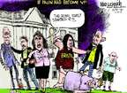 Cartoonist Mike Luckovich  Mike Luckovich's Editorial Cartoons 2014-10-24 Sarah Palin