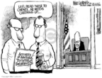Cartoonist Mike Luckovich  Mike Luckovich's Editorial Cartoons 2005-10-28 Dick Cheney Iraq