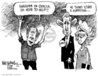 Cartoonist Mike Luckovich  Mike Luckovich's Editorial Cartoons 2005-11-06 monarchy