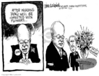 Cartoonist Mike Luckovich  Mike Luckovich's Editorial Cartoons 2005-11-07 Dick Cheney Iraq