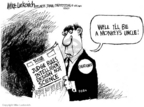 Cartoonist Mike Luckovich  Mike Luckovich's Editorial Cartoons 2005-12-21 science