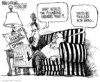Cartoonist Mike Luckovich  Mike Luckovich's Editorial Cartoons 2006-01-12 search amendment