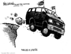 Cartoonist Mike Luckovich  Mike Luckovich's Editorial Cartoons 2006-01-25 petroleum