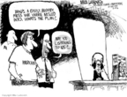 Cartoonist Mike Luckovich  Mike Luckovich's Editorial Cartoons 2006-02-10 civil war