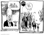 Cartoonist Mike Luckovich  Mike Luckovich's Editorial Cartoons 2006-03-21 Dick Cheney Iraq