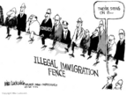 Cartoonist Mike Luckovich  Mike Luckovich's Editorial Cartoons 2006-04-11 border