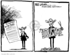 Cartoonist Mike Luckovich  Mike Luckovich's Editorial Cartoons 2006-05-19 civil war