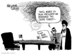 Cartoonist Mike Luckovich  Mike Luckovich's Editorial Cartoons 2006-06-01 civil war