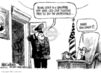 Cartoonist Mike Luckovich  Mike Luckovich's Editorial Cartoons 2006-06-06 probe