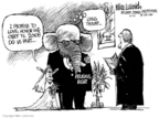 Cartoonist Mike Luckovich  Mike Luckovich's Editorial Cartoons 2006-06-07 honor