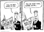 Cartoonist Mike Luckovich  Mike Luckovich's Editorial Cartoons 2006-06-21 Iraq