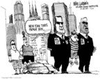 Cartoonist Mike Luckovich  Mike Luckovich's Editorial Cartoons 2006-06-30 civil war